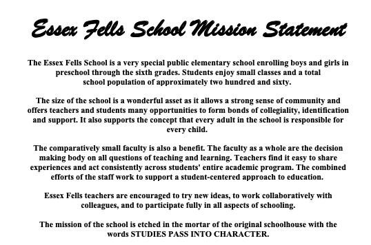 Essex Fells School / Overview